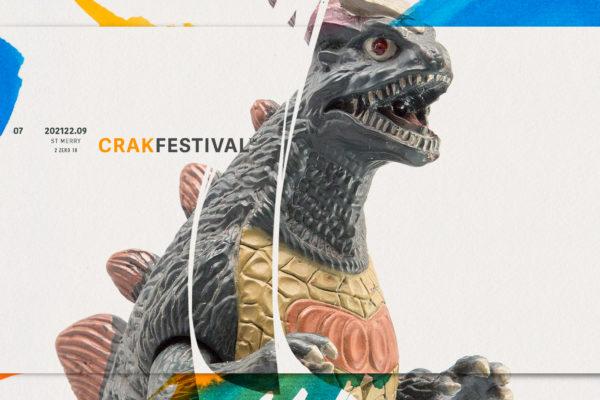 Affiche festival Crak 2018